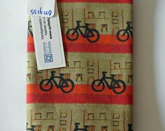 passport holder with bikes