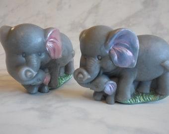 Elephant Soap - Baby Elephant Soap - Baby Animal Soap - Elephant Baby Shower - Zoo Baby Shower - Elephant Baby Shower Favors - Glycerin Soap