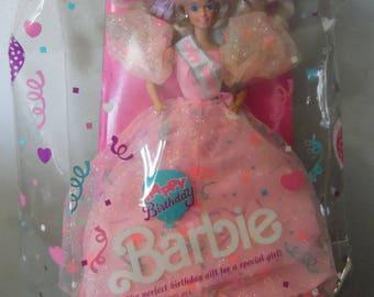 Mattel Happy Birthday Barbie Doll Vintage Barbie Doll