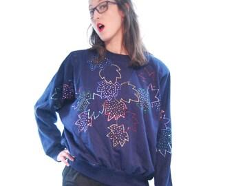 S A L E. 70's Sweatshirt.Vintage Sweatshirt .70's shirt.Vintage Shirt.Women Sweatshirt.Shirts.Women's Clothing.Top.Blouses.Size OS