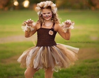Lion costume - lion tutu -  girls dress up - girls gift ideas - Christmas gifts for girls - girls costume - dresses for girls - lion dress