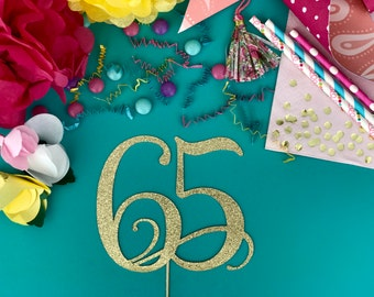 65th birthday etsy for 65th birthday party decoration ideas
