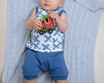 Organic Baby Outfit,Organic Toddler Outfit,Summer Boy Set