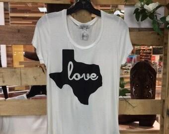 Texas Love Graphic T-Shirt
