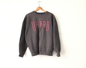 UMBRO SWEATSHIRT // 90s // Large // Umbro // Umbro Shirt // 90s Sweatshirt // Umbro Sweatshirt // Vintage // 90s Sweatshirt // Umbro