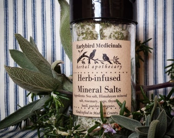 Herb Infused Mineral Salts
