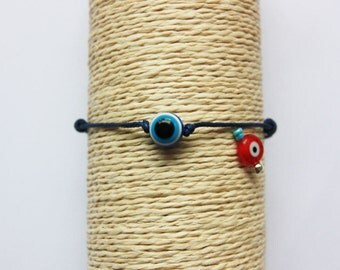 Lucky Charm Bracelet Evil Eye navy blue