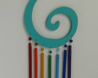 Rainbow Journey ~ Spiral Mobile