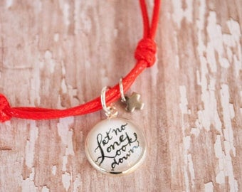 1st Communion Gifts for Girls, Bible Verse Bracelet, Unique Gifts for Goddaughter, Let No One Look Down On Your Youth, 602016