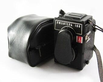 LUBITEL 166 OLYMPIC Russian Medium Format 6x6 Rollei Copy TLR Camera