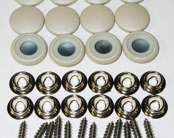 Platinum Plated Brass Snap Buttons 11mm Glue Pad 82 Pcs From