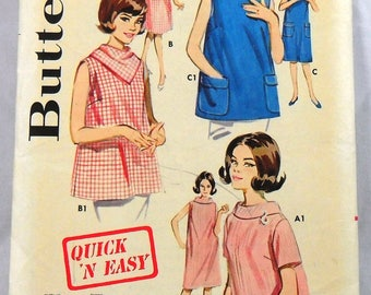Butterick 2717 maternity dress or smock, bust 31
