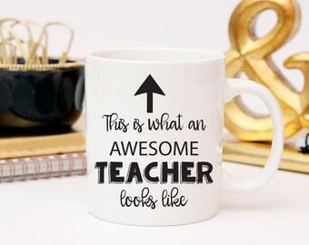 Teacher Coffee Mug, Teacher Gift, Teacher Appreciation, Work Mug, Gifts For Teacher, Graduation Gift for Teacher, End of Year Teacher Gift