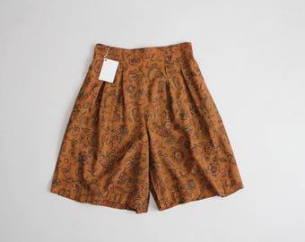 high waist floral shorts | 90s shore | baggy floral shorts