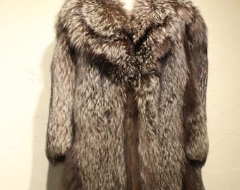 Vintage Blosveren's Fur Fox Coat