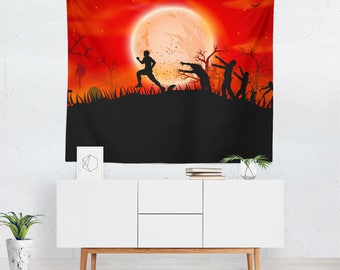 Halloween Wall Tapestry | Halloween Wall Décor | Halloween Tapestries | Halloween Wall Art | Halloween Art | Halloween Tapestry