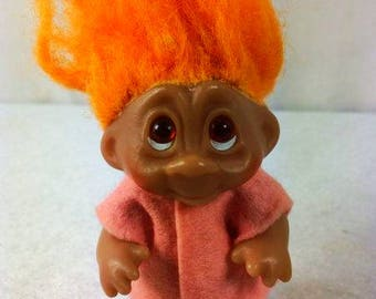 Vintage 80s Dam Troll - 3.5 inches