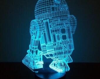 R2D2 led Night Light Lamp