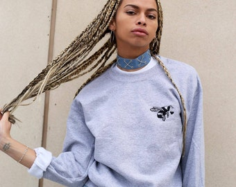 Embroidered 'Bee mine' sweater