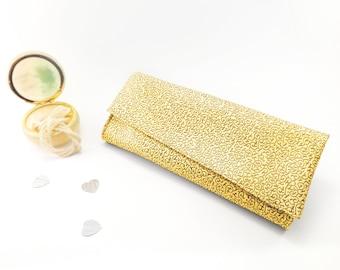 Gold clutch Bridal purse bag Wedding clutch bag Gold evening purse Bridal clutch Gold wedding purse Gold bridal purse Formal wedding bags