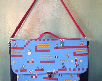 Super Mario Brothers Laptop bag