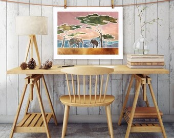 Instant Download Printable Art, Wall Prints, Wall Décor, Wall Art, Digital Print, Landscape Print