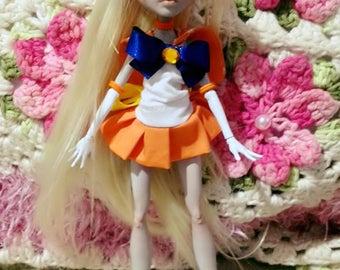 MADE TO ORDER Custom Sailor Venus doll Monster High