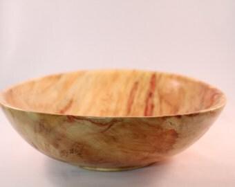 Flame Box Elder Bowl No. 37