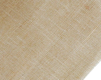 "Natural Fabric, Beige Jute Fabric, Beige Burlap, Sewing Crafts, Rustic Fabric, Home Accessories, 46"" Inch Burlap Fabric By The Yard ZJC16A"