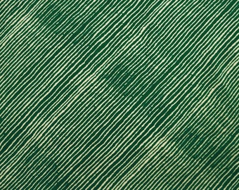 "Stripe Print, Cotton Fabric, Green Fabric, Home Decor, Quilting Fabric, Sewing Crafts, 45"" Inch Fabric By The Yard ZBC7593A"