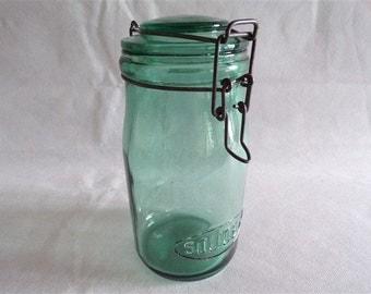 Jar of Solidex canning jar vintage kitchen decor retro kitchen vintage france vintagefr