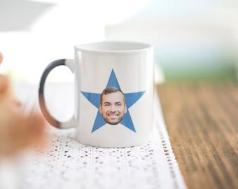 The office *your face* star mug