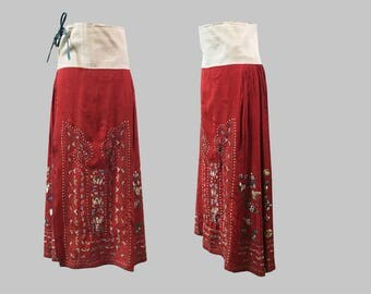 Antique Chinese Wedding Skirt