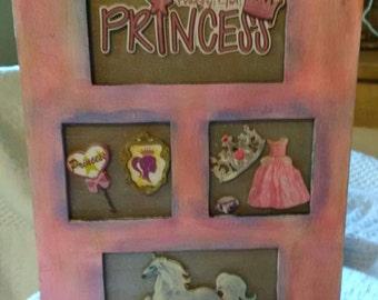 Repurposed Girls Jewelry/Trinket Box