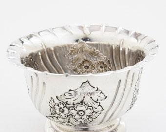 Edwardian Solid Silver Bowl 1902