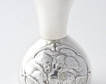 Solid Silver Posy Vase - William Comyns - 1897