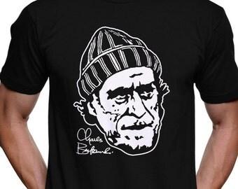 Charles Bukowski T-Shirt - Ham on Rye Factotum Post Office Women Hollywood Pulp Hunter S. Thompson Jack Kerouac William S. Burroughs