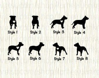 Pit Bull Car Decal, Pit Bull Decal, Pitbull Car Decal, Pitbull Decal, Pit Bull Heart Decal, Love Pit Bulls, Dog Decal,Pit Bull Sticker,Pitty