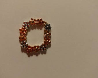 Flower Bead Stretch Ring