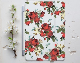 Floral iPad Cover Personalized Smart Cover iPad Case iPad 2 Cover iPad 3 Cover iPad 4 Smart Cover iPad Air Cover iPad Stand Smart Case s009