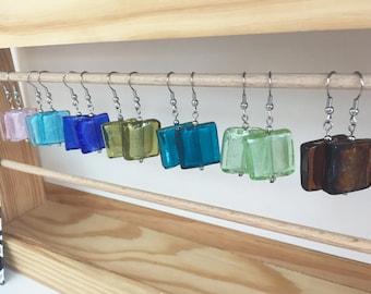 How Murano earrings