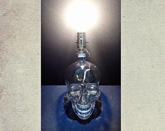 Crystal Skull Lighting Lamp