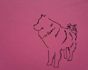 Chow silhouette, minimalist chow art, Chow chow drawing, Chow chow artwork, Chow dog art, Chow-Chow illustration, chow chow lover, chow