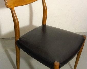 Lübke Mid Century teak Chair