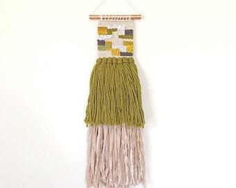 Wall Weaving, Handwoven Wall Hanging, Home Decor Wall Art, Colorful Wall Art, Woven Wall Hanging, Lap Loom Weaving, Yarn Wall Hanging