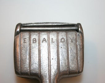 Ebaloy Ice Crusher//Hand Ice Crusher//Barware//Vintage Ice Crusher