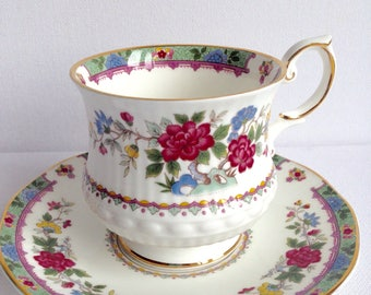 Queens Vintage Cup and Saucer Lady Fine Bone China