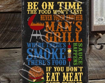 Barbecue Rules   SVG, PNG, JPEG
