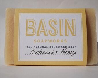 Oatmeal Honey Handmade Soap