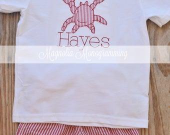 Crab Applique Shirt